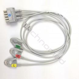 ECG wielorazowe odprowadzenia GE DATEX OHMEDA 2106